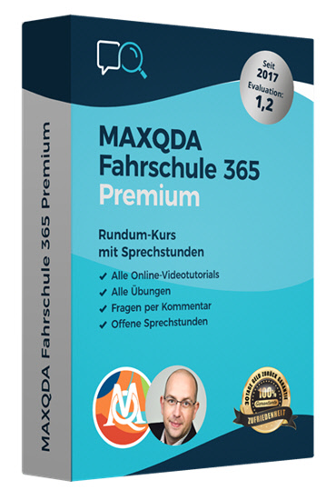 MAXQDA Fahrschule 365
